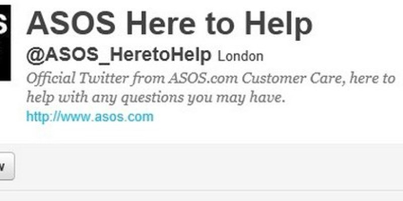 The perfect troubleshooting email from ASOS