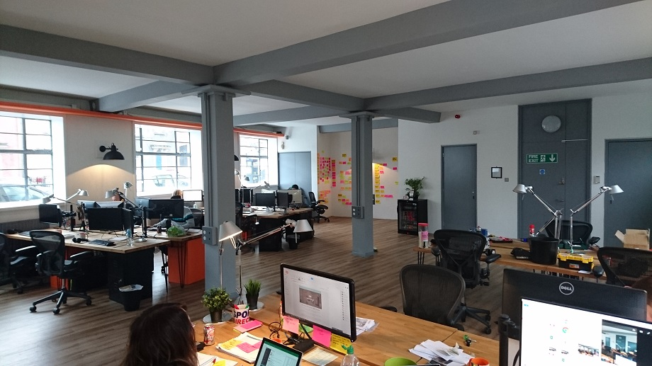 Gibe Digital has a new office