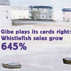 Gibe Plays its Cards Right With New Whistlefish Site