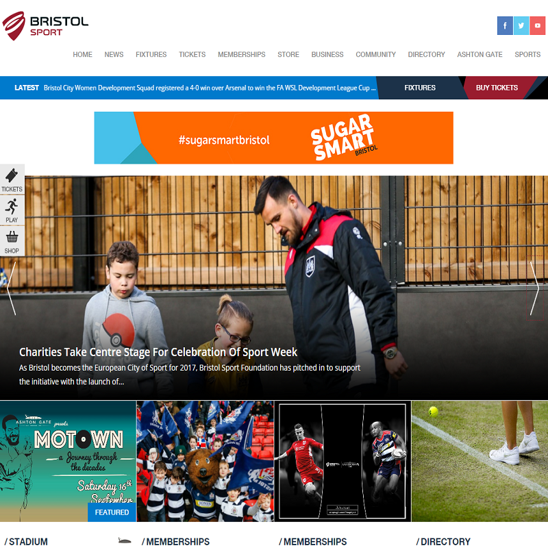 Gibe Got Game: New Bristol Sport Website Goes Live